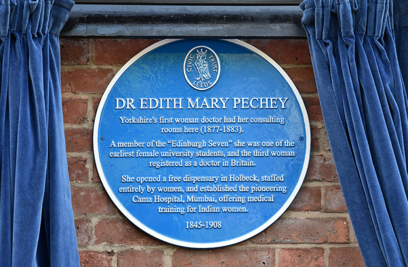 A Blue Plaque For Dr Edith Pechey